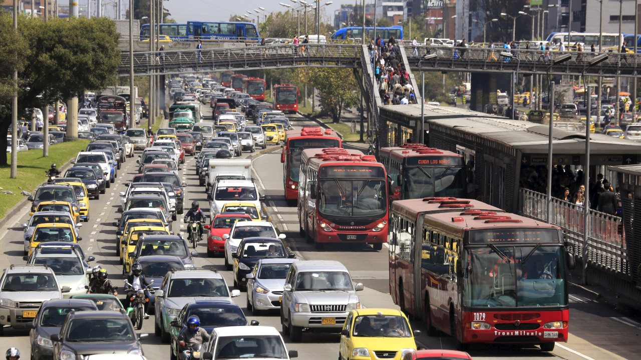 At second position is the Colombian city of Bogota. It has a congestion level of 63 percent. The city's traffic has seen a rise of 1 percent since 2017. The congestion on Bogota's highways is higher than on its non-highways. (Image: Reuters)