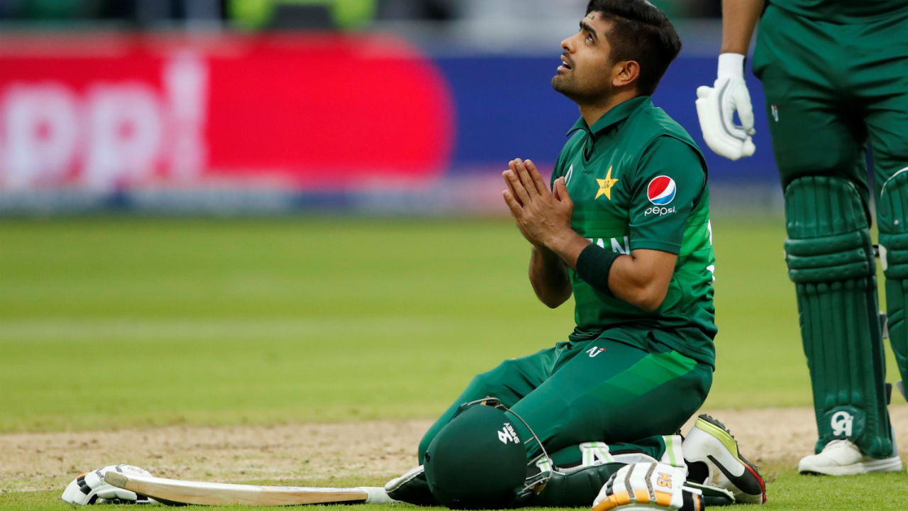 Babar remained unbeaten on 101 off 127 as Pakistan won the match by 6 wickets. (Image: Reuters)