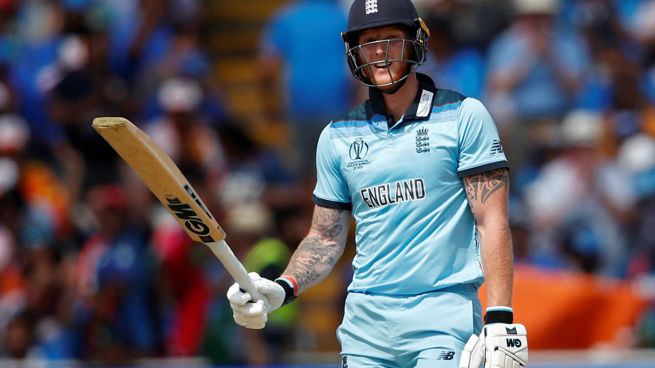 Stokes played beautifully for his 79 off 54 before he was dismissed in the last over of England's inning by Bumrah. England finished with a total of 337/7. (Image: Reuters)