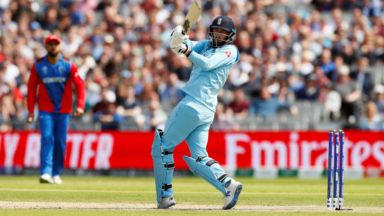 James Vice opened the England innings along with Jonny Bairstow. Vice scored 26 off 31 balls before he was dismissed by Dawlat Zadran in the 10th over. England were 44/1. (Image: Reuters)