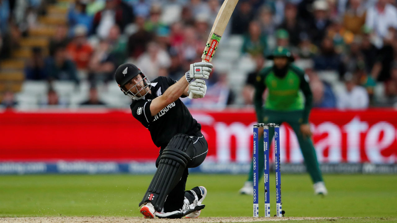 The match went down till the last over with New Zealand needing 8 runs off 6 balls with Williamson batting on 96. The Kiwi skipper completed his hundred in style as he smashed Phehlukwayo over deep mid-wicket for a huge six. Then very next ball Williamson scored a boundary and sealed a thrilling 4-wicket win for the Blackcaps. (Image: Reuters)