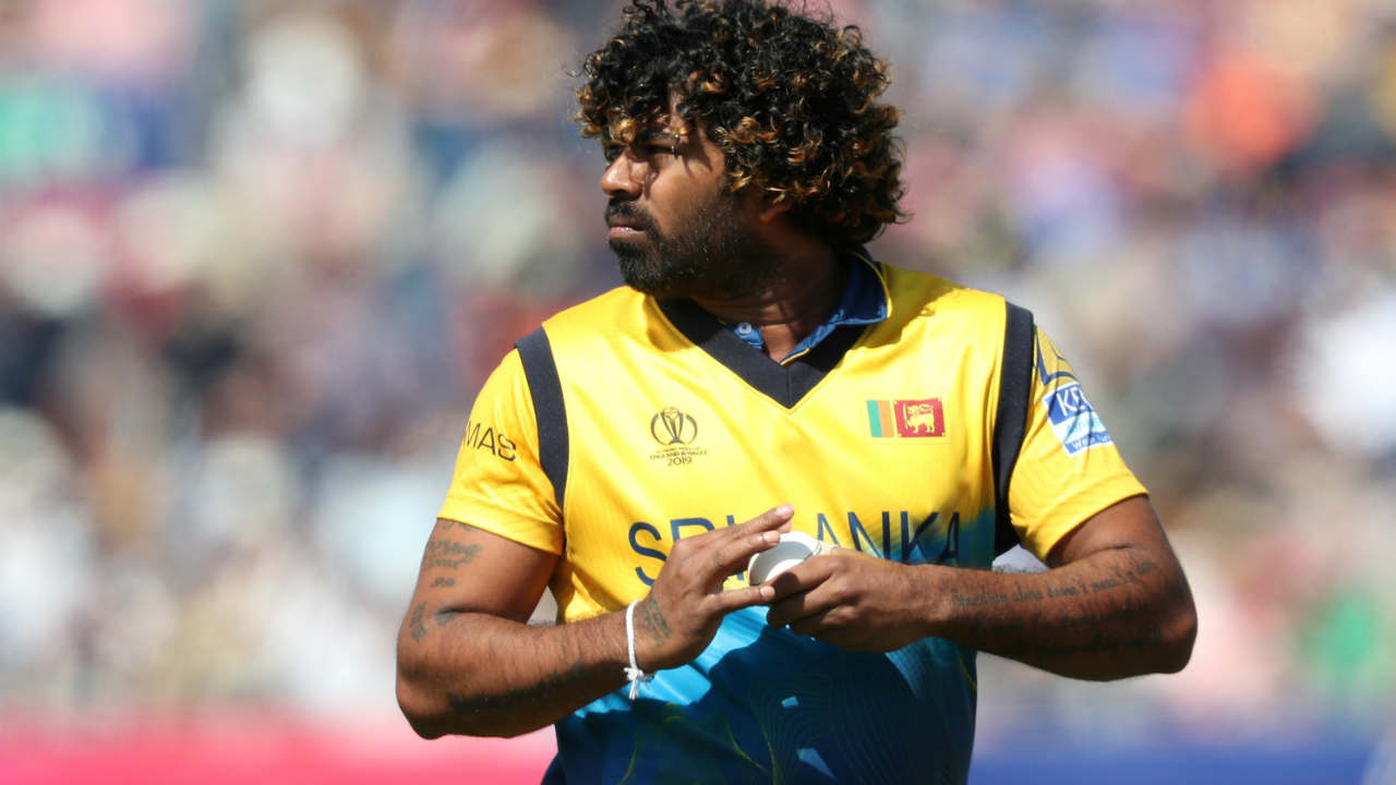 The 24th over bowled by Malinga was a maiden. With that maiden Malinga reached a personal milestone of bowling 100 maiden overs in ODI cricket. (Image: Reuters)