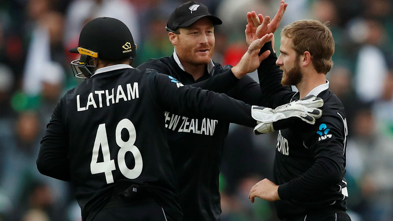 Williamson then brought himself into the attack and got the wicket of Hafeez in the 25th over. Pakistan were 110/3 when Hafeez departed. (Image: Reuters)