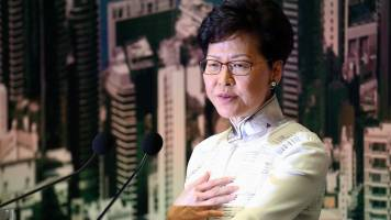 China won't allow Hong Kong leader Carrie Lam to step down despite mass unrest: Report