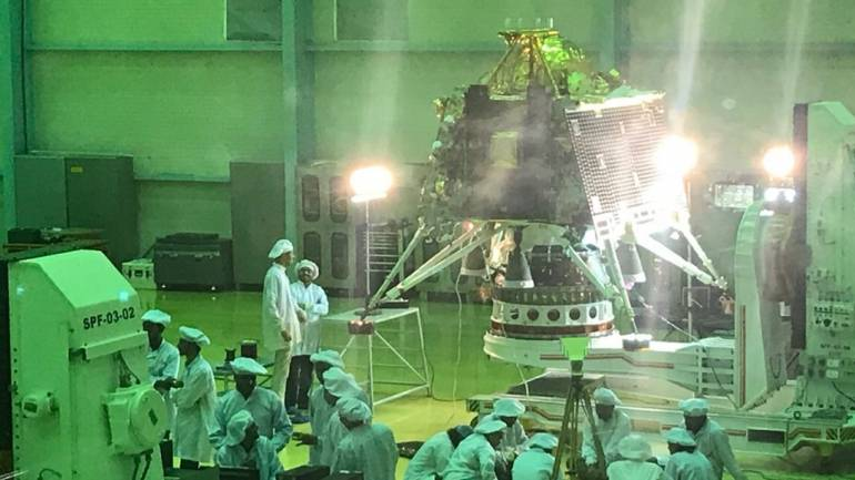 File image of Chandrayaan 2's Vikram lander