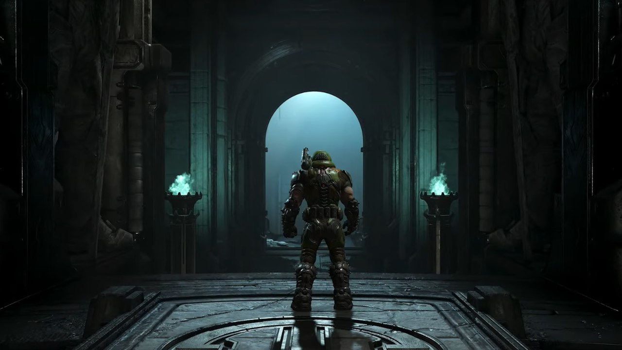 """Doom Eternal   Doom Eternal got a confirmed release date at E3 2019. The game is set to arrive in November 2019 and looks stellar with support for real-time ray tracing. Doom Eternal is also set to get two single-player DLC releases as part of its """"Year One"""" post-launch content. This fps allows players to assume the role of DOOM Slayer, who returns to Earth, now a planet plagued with demons after a major invasion. Bethesda is bringing Doom Eternal to the PS4, Xbox One, PC, Nintendo Switch and Google Stadia."""