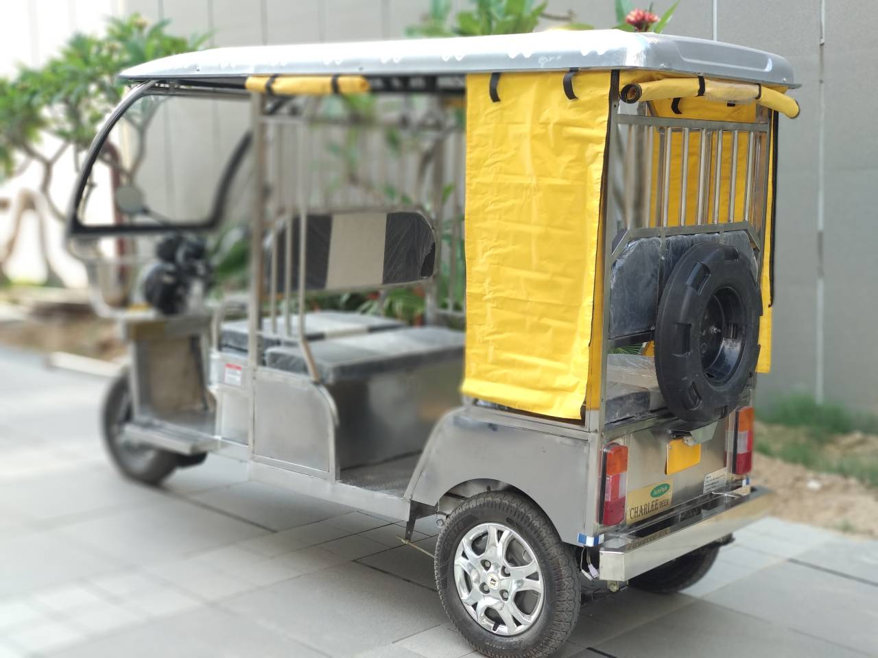 These models have an extended life cycle of around five years and is expected to cater to a demand that is annually estimated to be around 6 lakh E-rickshaws in India. (Image: Jindal Stainless)
