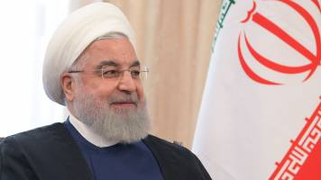 Iran's President Hassan Rouhani says US 'lying' about talks offer