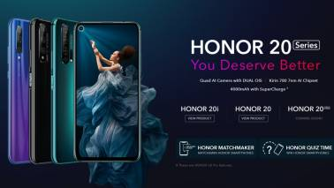 Honor launches Honor 20 Series with 32MP front cameras in India, starts at Rs 14,999