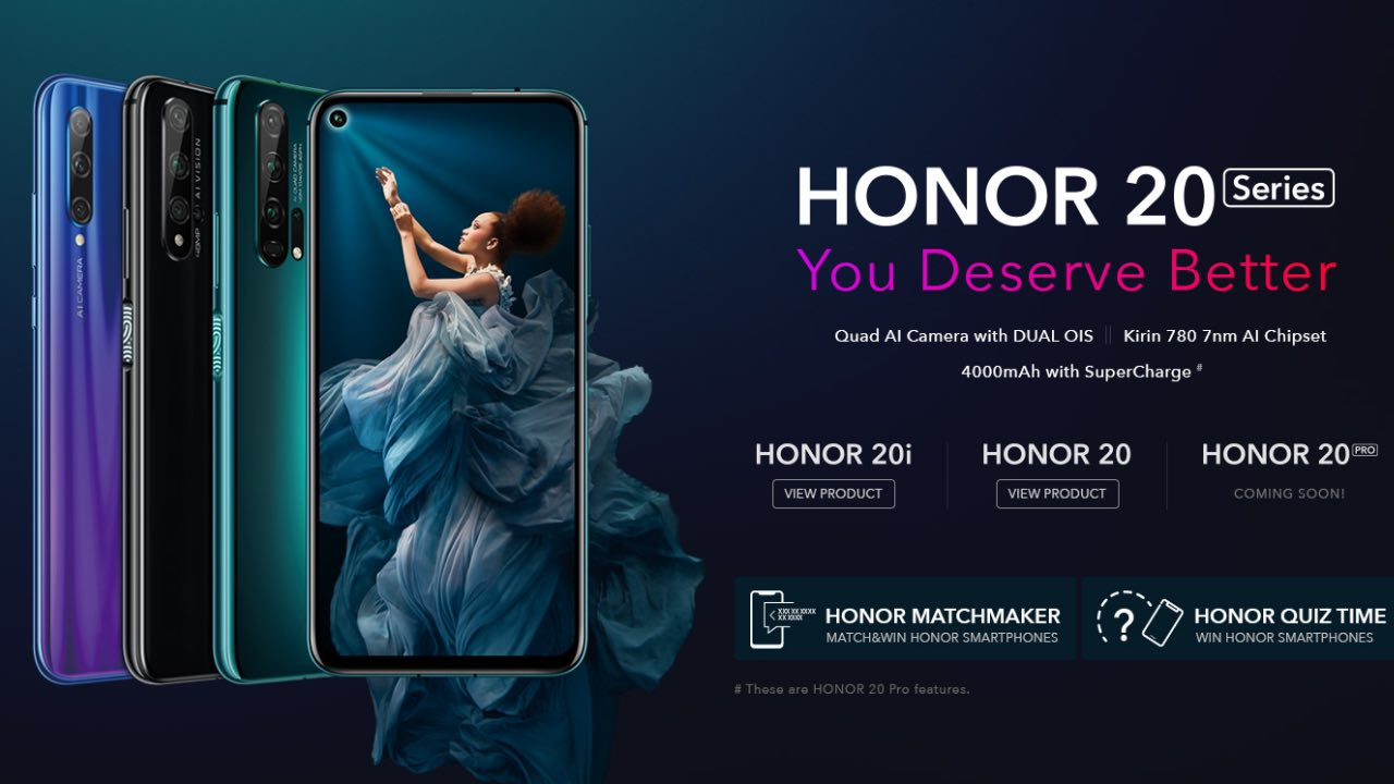 Honor 20 | Rs 32,999 | Kirin 980 | 6GB RAM | 128GB Storage | 6.4-inch FHD+ LCD | 48MP + 16MP + 2MP + 2MP Rear Camera | 32MP Front Camera | 3,750mAh Battery | The Honor 20 may just have the best camera setup of all the phones on our list. Both Huawei and Honor do a pretty good job with camera performance, and the Honor 20's quad camera setup is quite impressive. The Honor 20 also offers flagship-grade performance courtesy of its 7nm Kirin 980 processor and 6GB RAM.