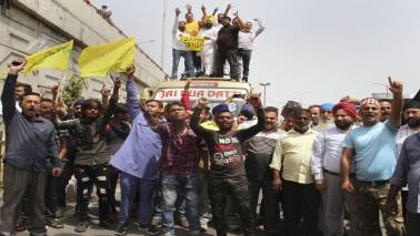 Normal life in Jammu and Kashmir hit as transporters strike against GPRS on vehicles