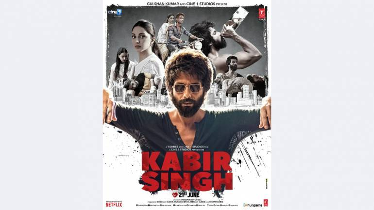 Shahid Kapoor's Kabir Singh becomes seventh Bollywood venture in 2019 to  score a century