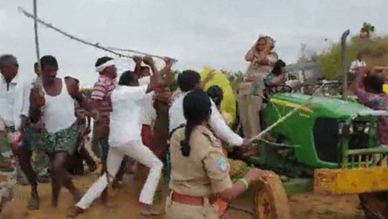 Woman forest dept official assaulted in Telangana, TRS MLA's brother held