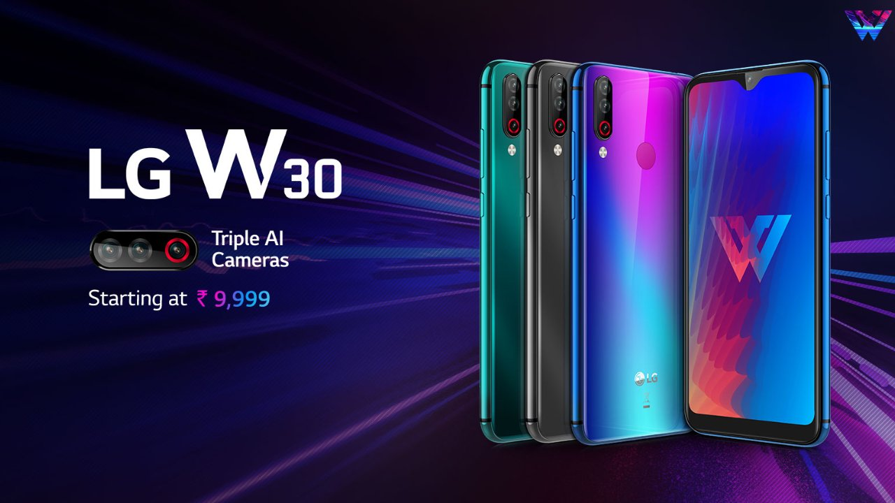 Best Newly Launched Smartphone | LG W30 | Rs 9,999 | 3GB + 32GB | HD+ LCD | 4,000 mAh | The LG W30 handset sold out within a few minutes of its first sale and is now back on Prime Day. The W30 may not be high on performance but offers an impressive camera setup at an affordable price. On the back, the W30 is equipped with a 12-megapixel low light sensor, 13-megapixel wide angle lens and 2-megapixel depth sensor. LG's latest budget handset also features a 16-megapixel front camera with facial recognition.