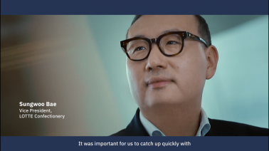 IBM Services - Breakthrough Partnerships - Lotte teamed up with IBM Services to implement an AI solution