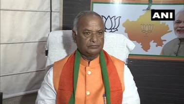 Rajasthan BJP chief Madan Lal Saini passes away at 75