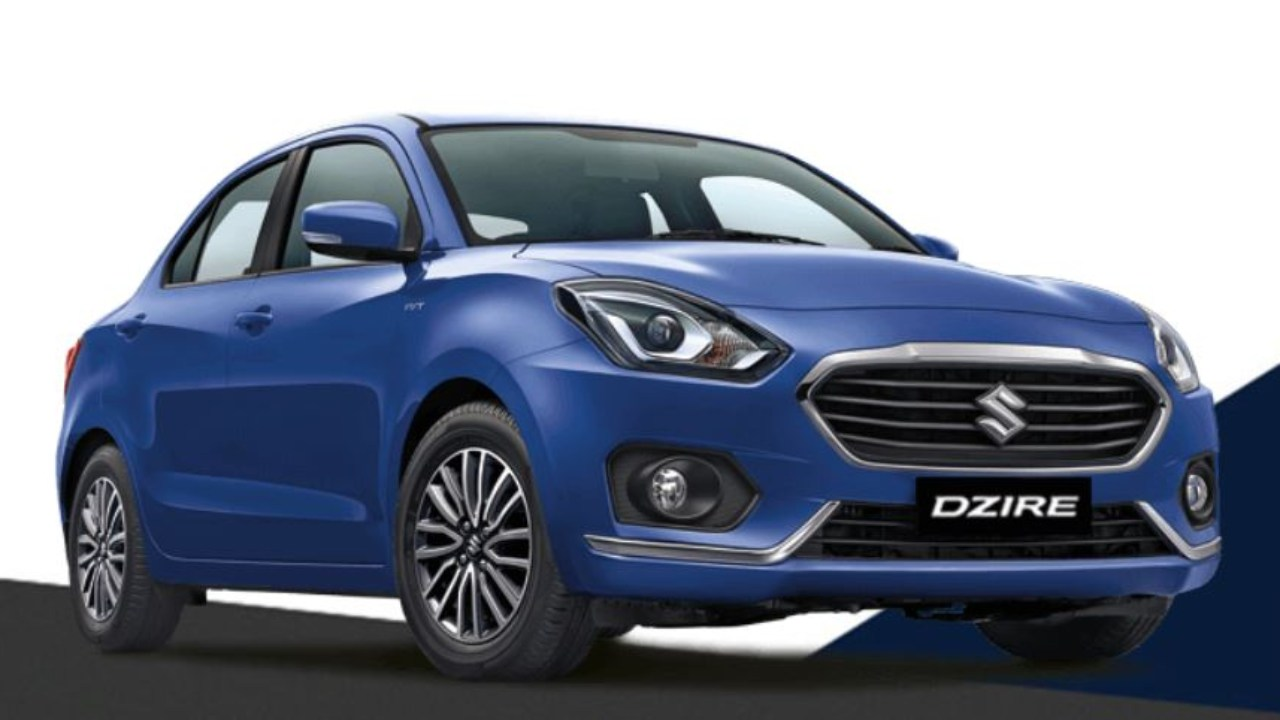 Buyers can save as much as Rs 84,100 on the diesel version of the compact sedan Dzire thanks to the benefit schemes. The Dzire has come under pressure after the launch of Honda Amaze (Image: Maruti Suzuki)