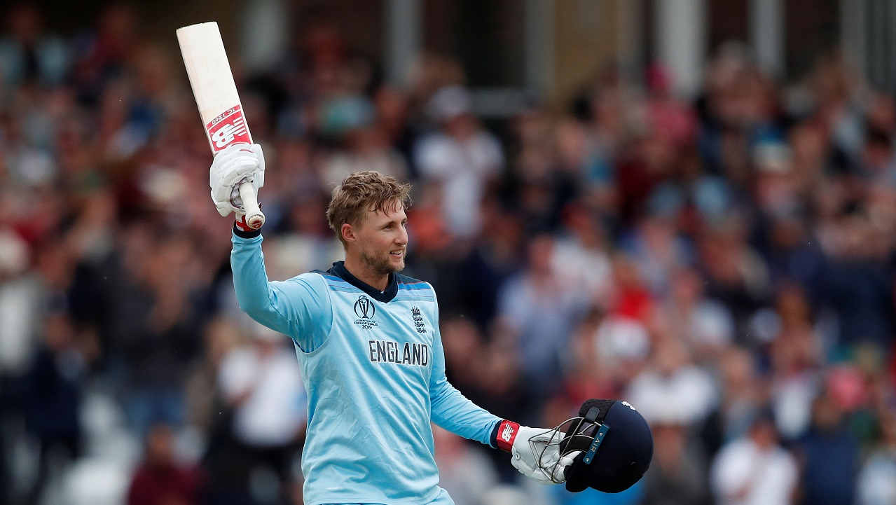 Joe Root scored a century after being dropped very early in his innings by Babar Azam.