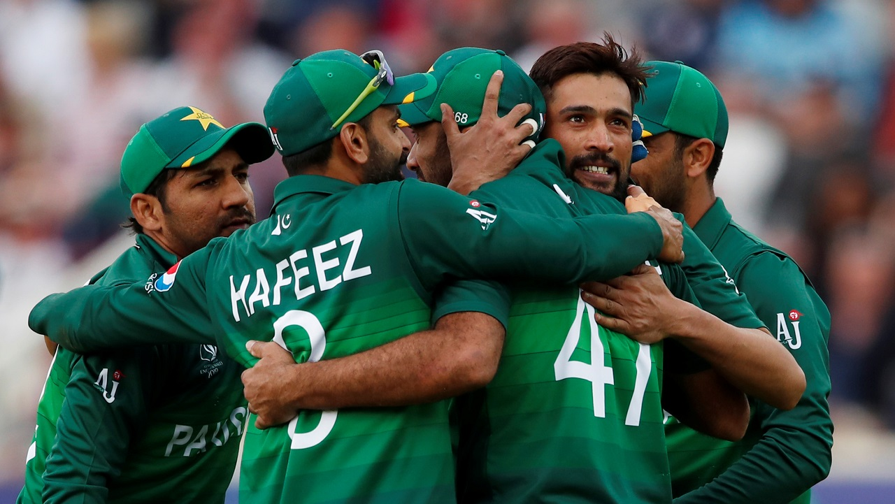 Amir got the precious wicket of Buttler ending hopes of a comeback for England.