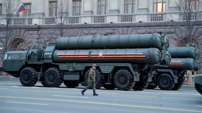 Russian S-400 (File image: Reuters)