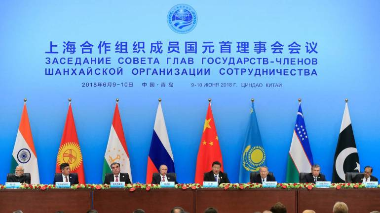 SCO not aimed at targeting any country: China