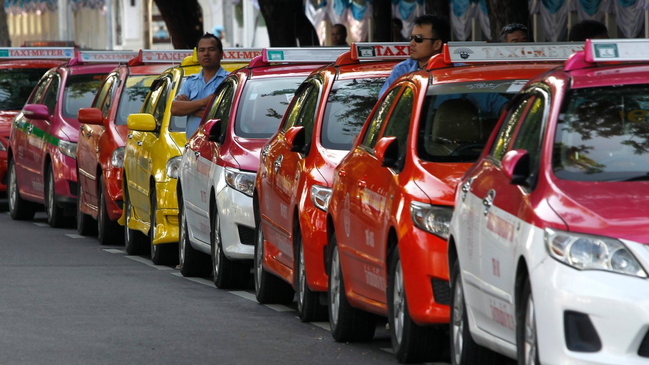 Thailand is the next place where a person hailing a cab would have to shell out around 1.41 euros or roughly Rs 111. That's a fairly decent price for a 5 km ride, some would say. (Image: Reuters)