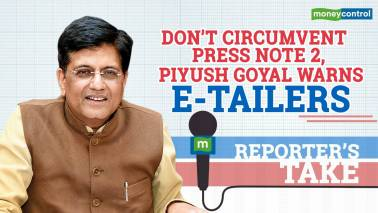Goyal warns e-tailers to follow Press Note 2
