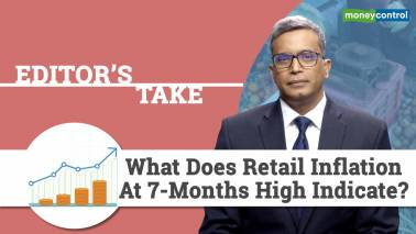 Retail inflation at 7-month high