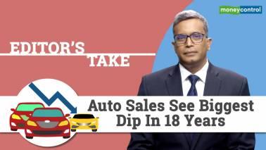 Auto sales see biggest dip in 18 years