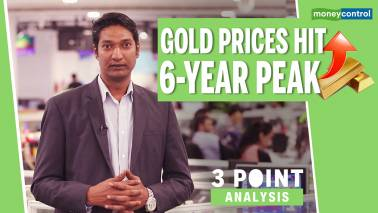 3-Point Analysis | Gold prices rise, hit 6-year peak in international markets