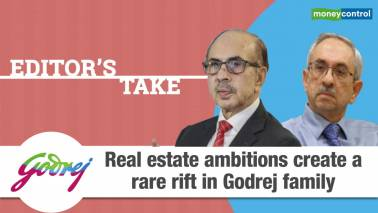 Rise in rift within Godrej family