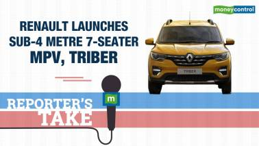 Renault launches 7-seater MPV, Triber