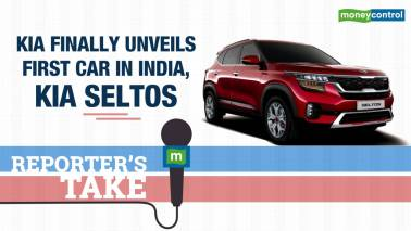 Kia finally unveils first car in India