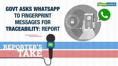 Fingerprinted WhatsApp messages for traceability?