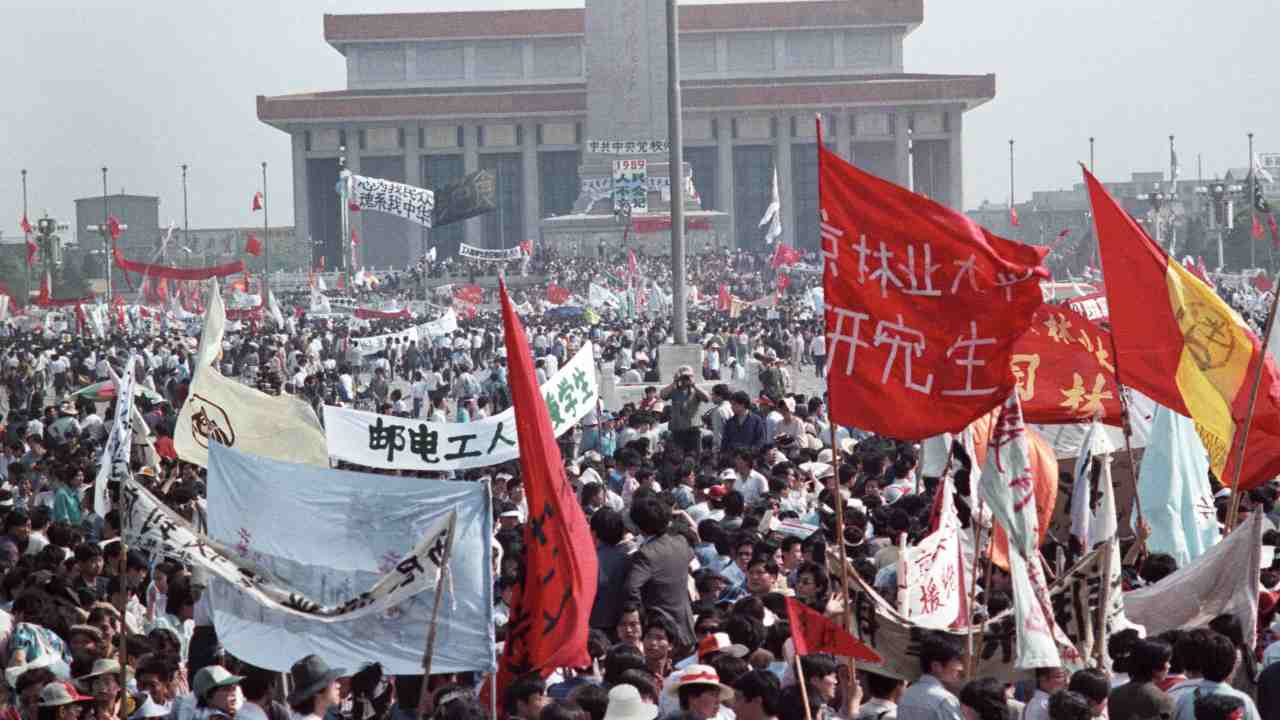 On June 4, 1989, as over a million students held demonstrations at Beijing's Tiananmen Square demanding a democratic state, the Chinese Premier Li Peng had ordered Martial Law. (Image: Reuters)