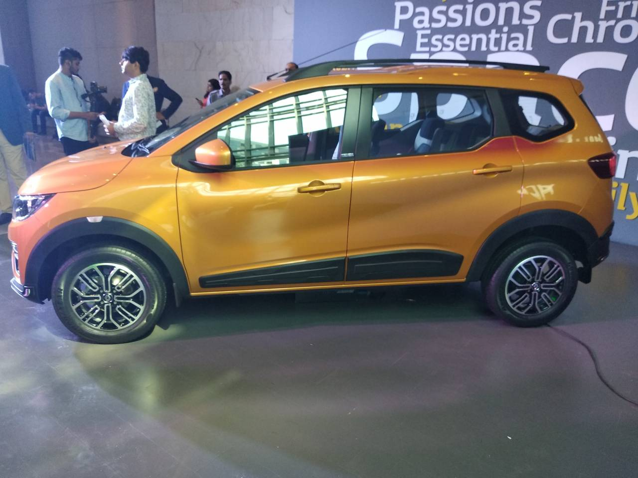 Triber will compete against the Maruti Ertiga and Datsun Go+. Mahindra recently launched the Marazzo positioned at the upper end of the segment. (Image: Moneycontrol)