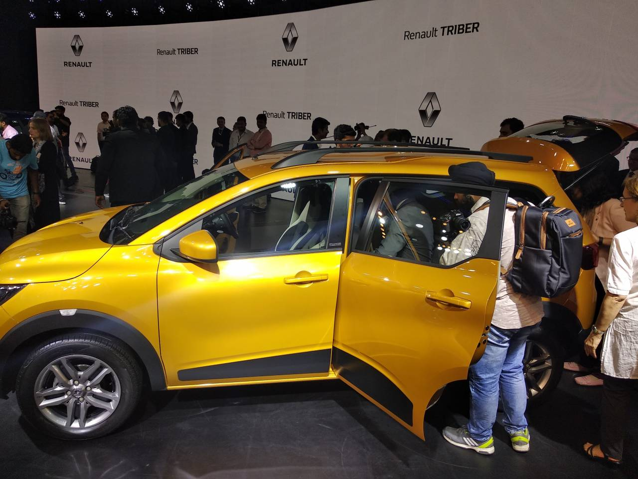 Triber is the second multi-seater vehicle from the French carmaker Renault. The company had earlier experimented by the Lodgy van which was well accepted in the commercial space. (Image: Moneycontrol)