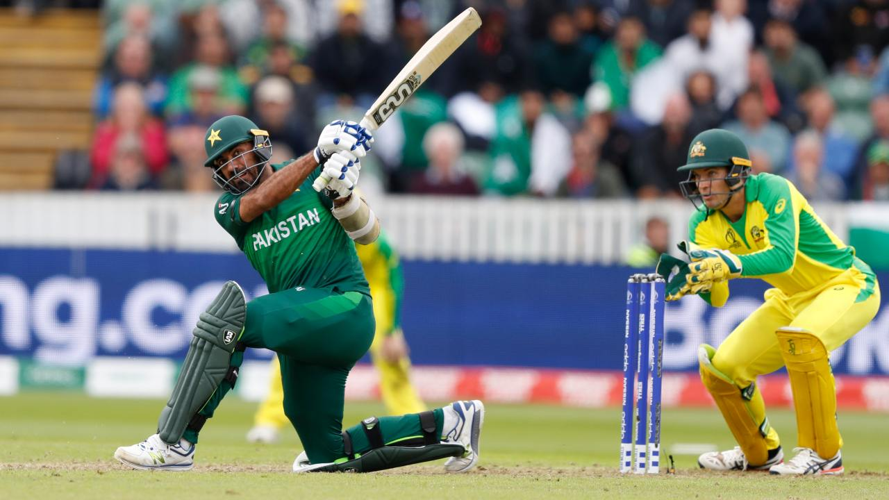 Wahab Riaz with some lusty hitting in captain Sarfaraz Ahmed's company revived late hope for Pakistan. However, Mitchell Starc returned into the attack to wipe out the tail. (Image AP)