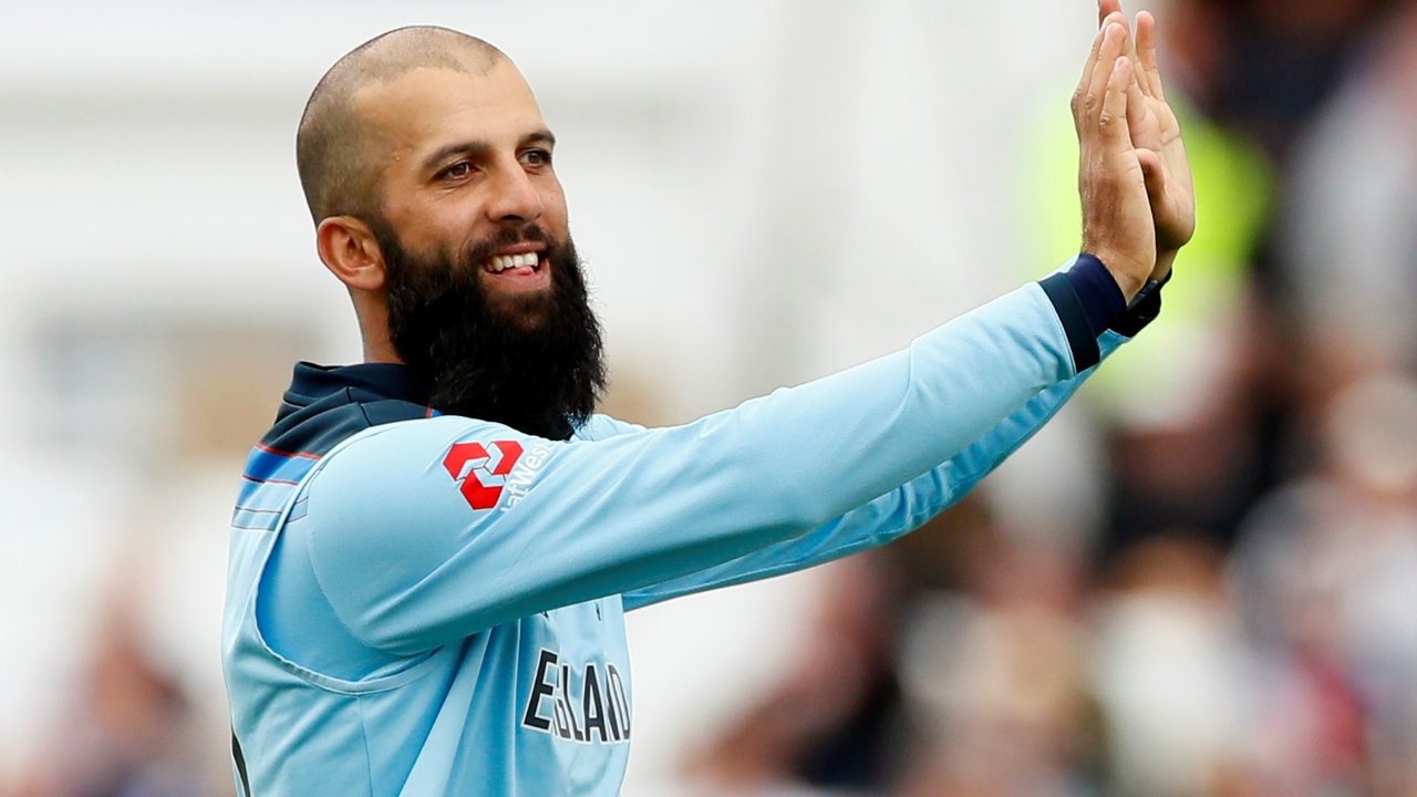 Moeen Ali was England's star performer with the ball, He took 3 wickets in 10 overs giving away just 50 runs