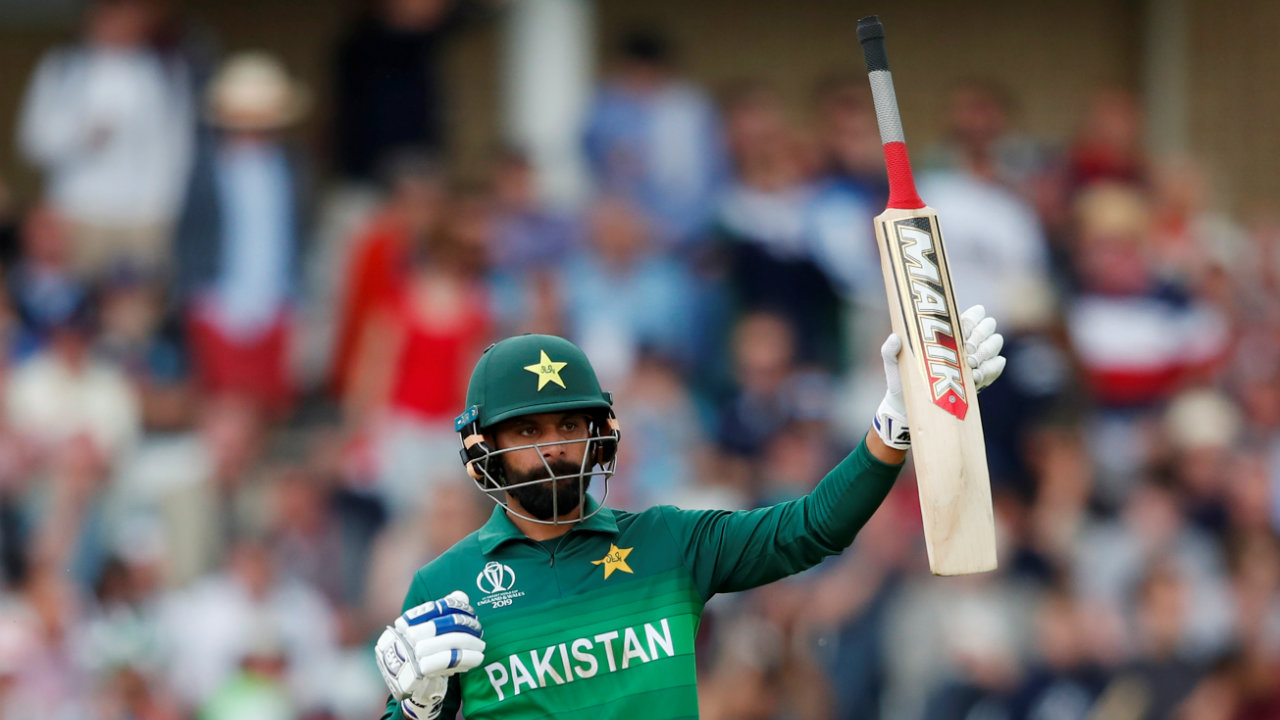 Mohammad Hafeez was the star with the bat for Pakistan. He scored 84 runs from just 62 balls.