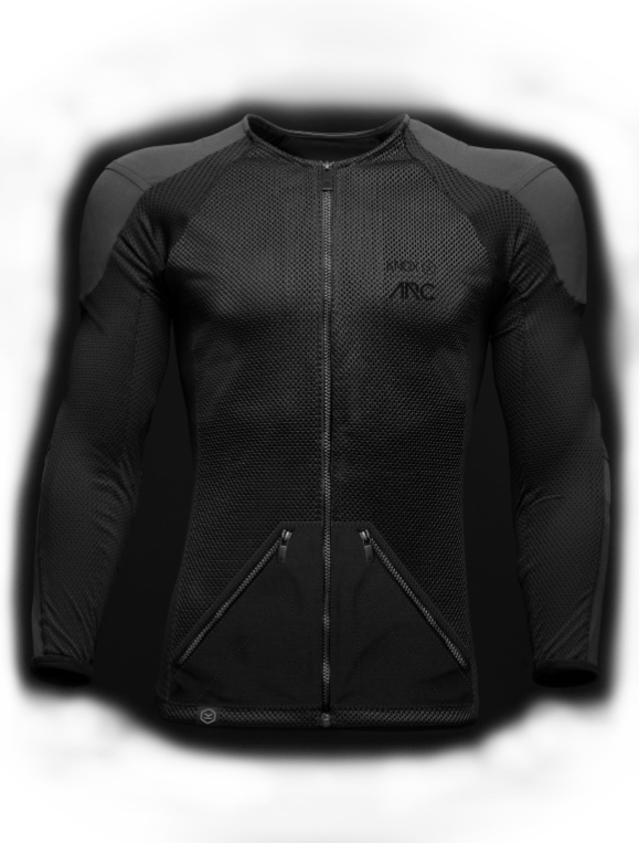 The jacket, on the other hand, is made with a range of durable materials including carbon fibre, flax, copper and sustainable leather. It is operational in three different modes, which give different feedbacks. It has an Urban Mode which alerts the rider of dangers ahead. Sports Mode gives the rider feedback on the bike's dynamic position by taking G-Force related data. Euphoric Mode lets you play music through the haptics.