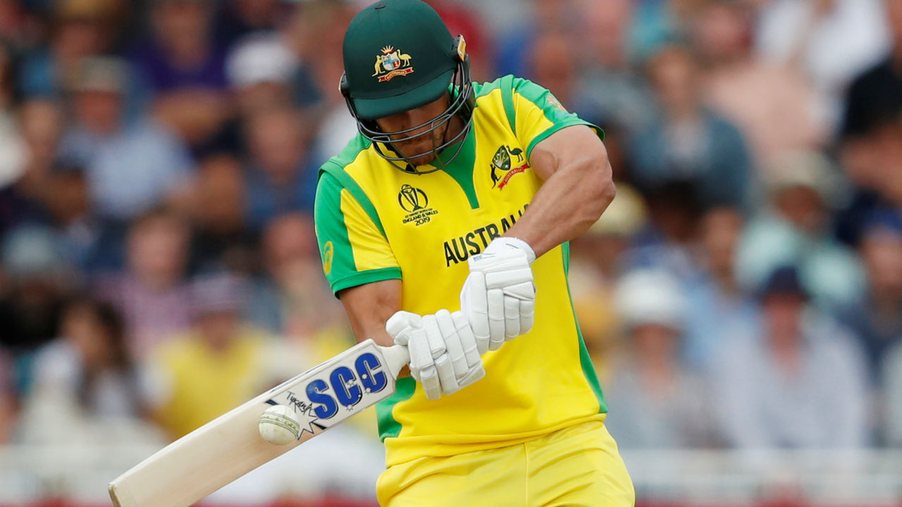 Nathan Coulter-Nile turned out to be a surprise package as he played an aggressive knock from the other end. Coulter-Nile completed his first ODI fifty in the 43rd over before he was dismissed by Carlos Brathwaite in the 49th over. Coulter-Nile made 92 off just 60 balls. (Image: Reuters)
