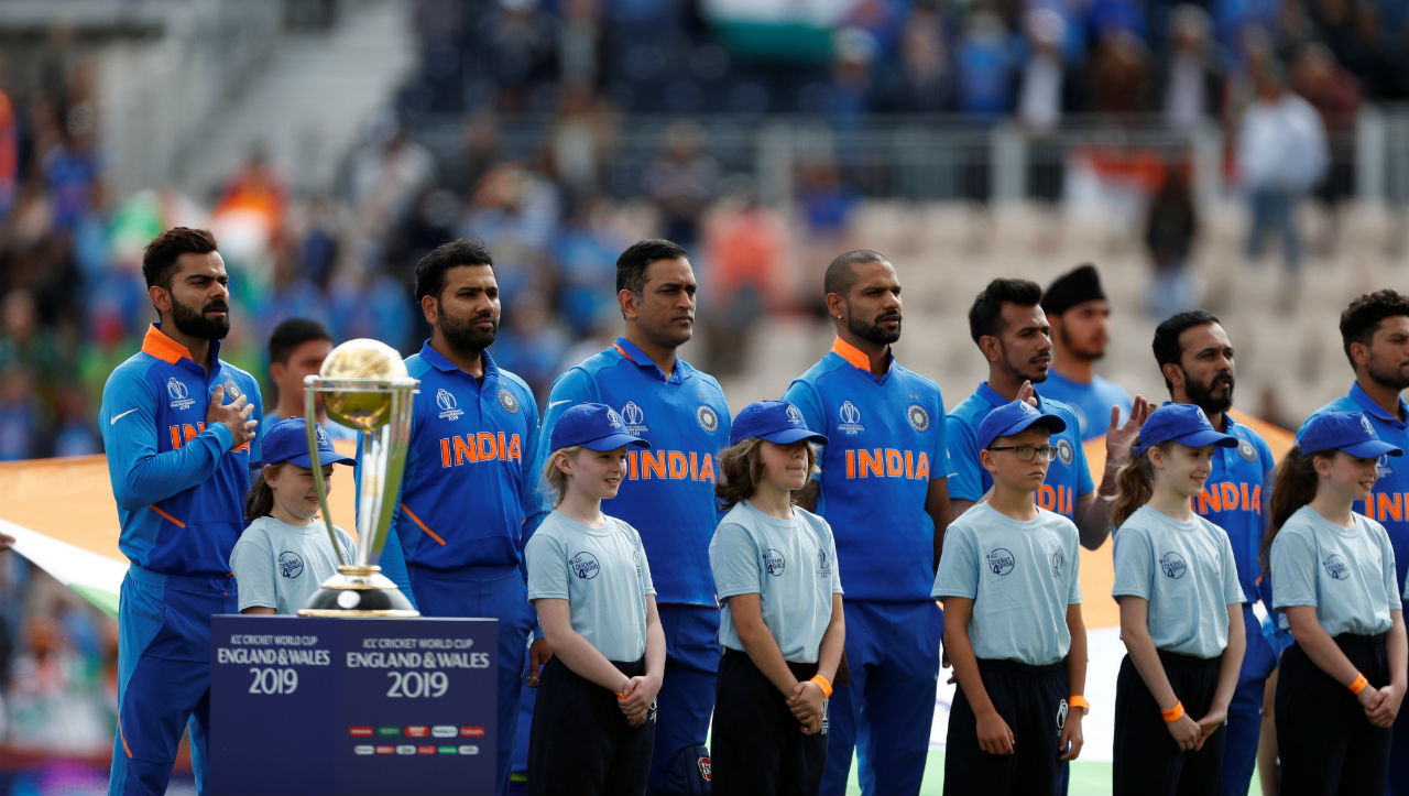 Team India began its World Cup campaign against struggling South Africa at the Rose Bowl in Southampton. South Africa skipper Faf du Plessis won the toss and elected to bat. Injury-ravaged South Africa brought spinner Tabraiz Shamsi into the playing XI, while playing two allrounders in Chris Morris and Andile Phehlukwayo. For India, the spin duo of Yuzvendra Chahal and Kuldeep Yadav started in the playing XI. (Image: Reuters)