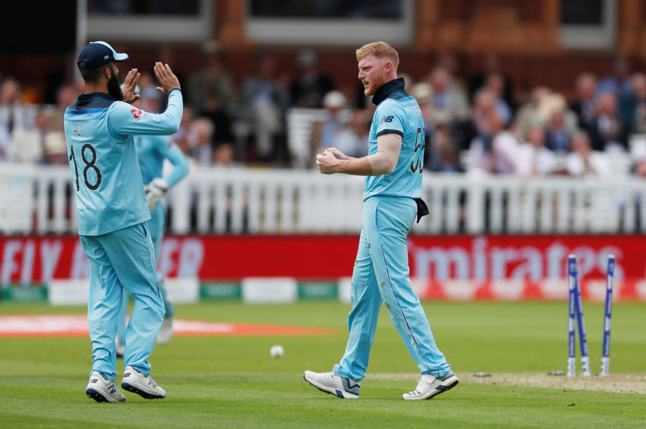 Batting at No.3 Usman Khawaja scored 23 off 29 before Ben Stokes clean-bowled the left-hander in the 33rd over. (Image: Reuters)