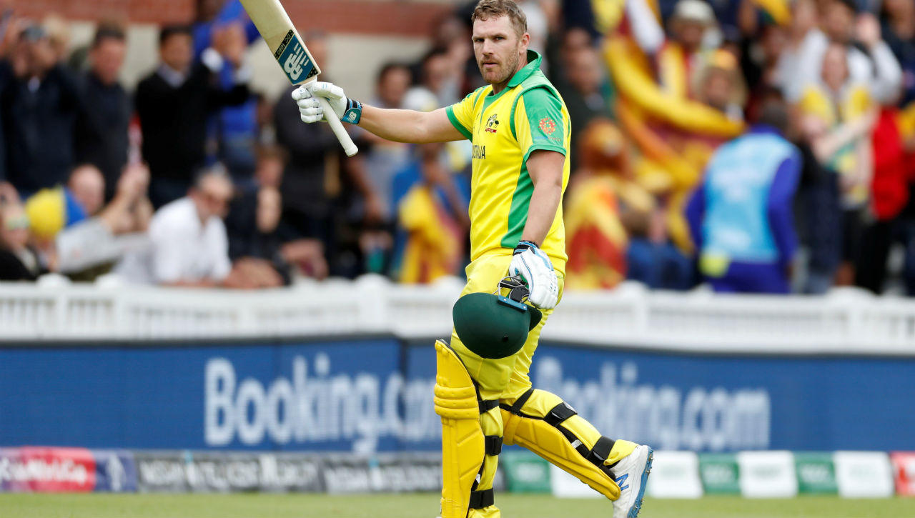 Cricket World Cup 2019: Australia's Finch leads the run scoring charts with Rohit close second