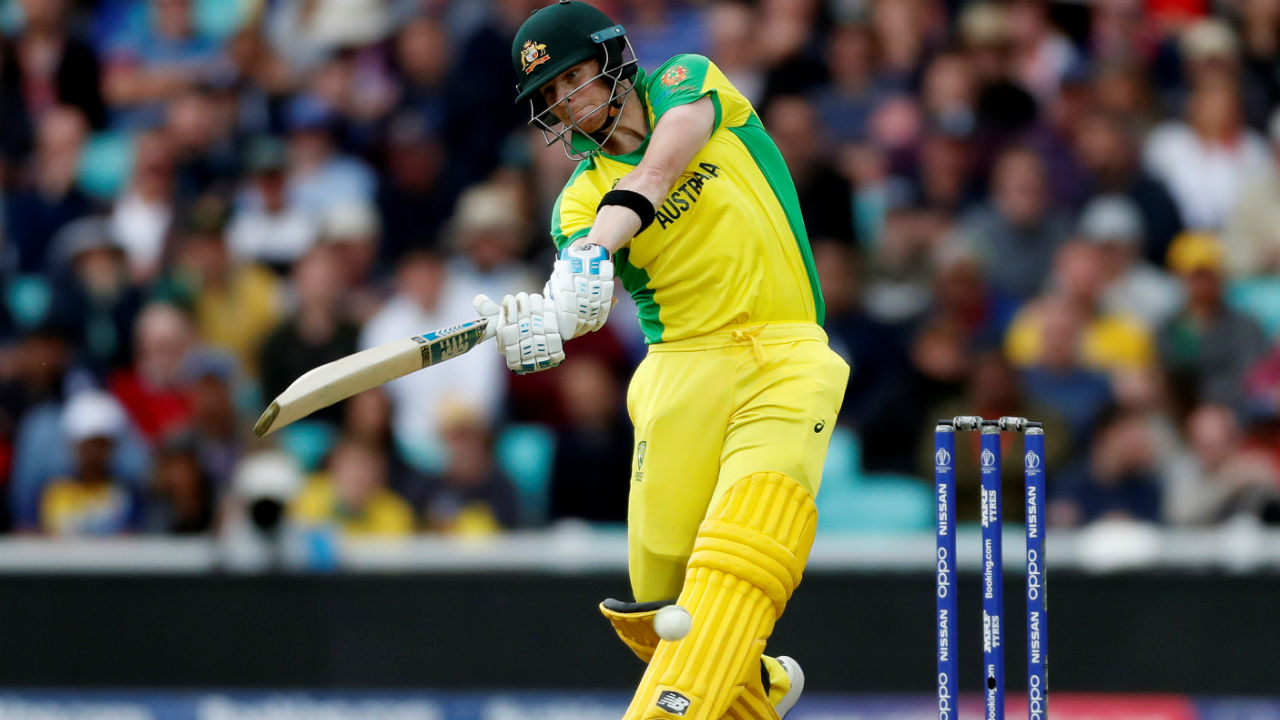 Steve Smith too batted well and completed his fifty in the 39th over with a single against Nuwan Pradeep. (Image: Reuters)