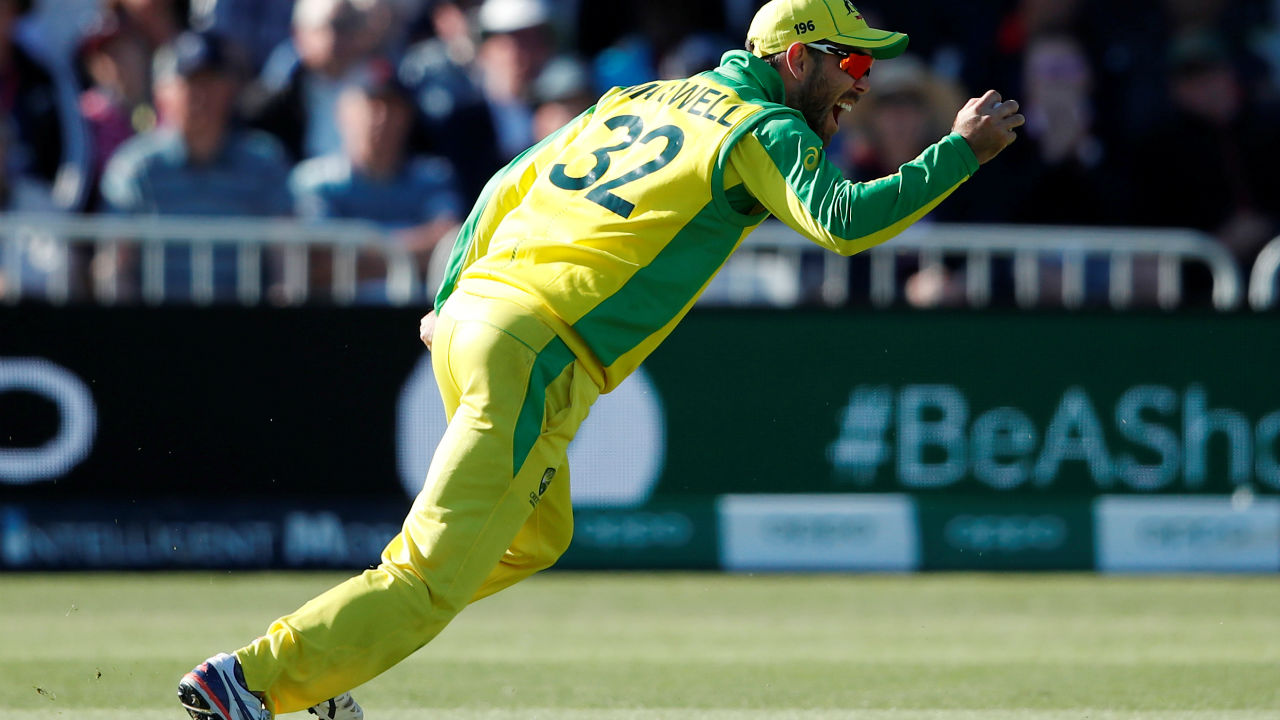 Andre Russell scored 15 off 11 balls before a spectacular catch by Glenn Maxwell sent him back. West Indies were 216/6 when Russell lost his wicket. (Image: Reuters)