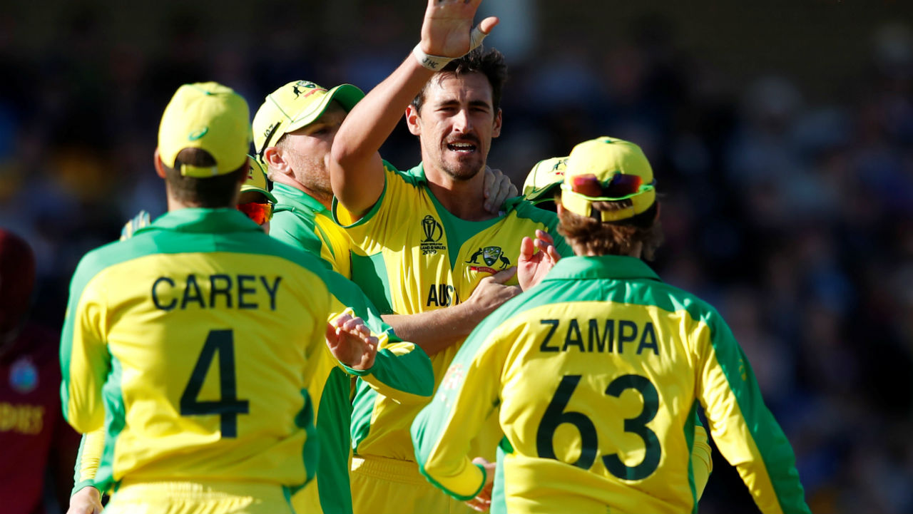 Starc bowled a fiery spell towards the closing stages of the match and accounted for the wickets of Holder, Brathwaite and Cottrell to complete his five wicket haul. Starc finished with the figures of 10-1-46-5. West Indies finished its a score of 273/9. Australia won the match by 15 runs. (Image: Reuters)
