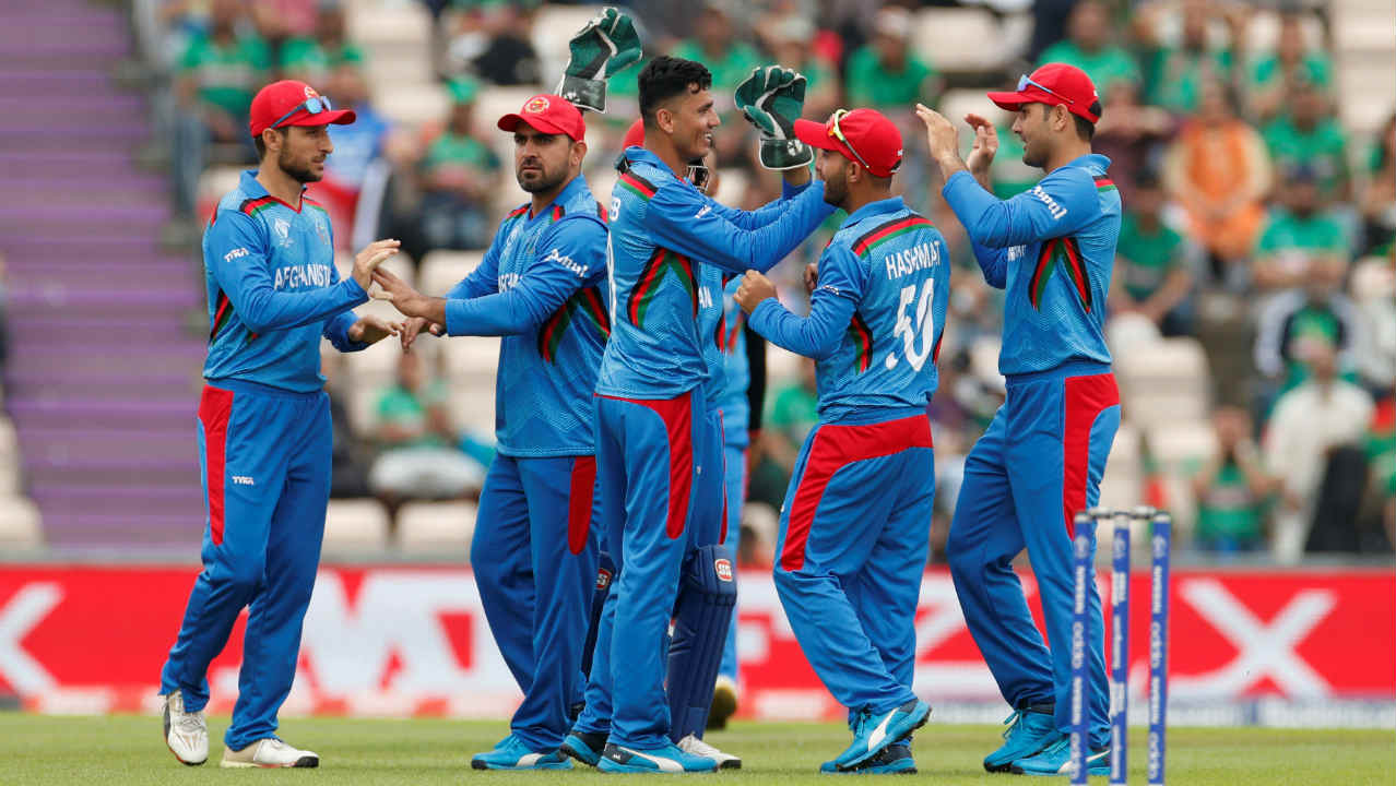 Bangladesh got off to a decent start with Tamim Iqbal and Liton Das. However, Mujeeb Ur Rahman drew first blood in the 5th over getting Liton caught out at short cover. Bangladesh were 23/1 when Liton walked back. (Image: Reuters)