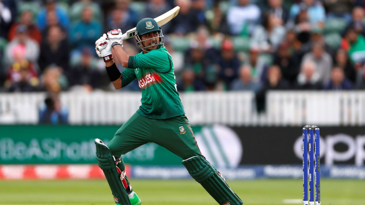 Bangladeshi opening pair of Soumya Sarkar and Tamim Iqbal hit 52 runs before Sarkar was dismissed in the 9th over by Andre Russell. (Image: Reuters)